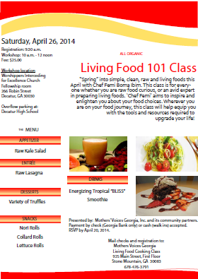 Community Class: Living Foods 101