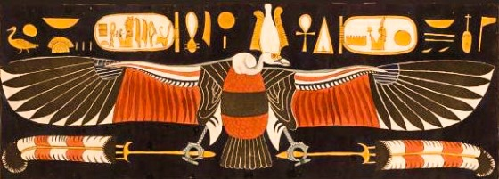 The vulture Goddess Nekhbet